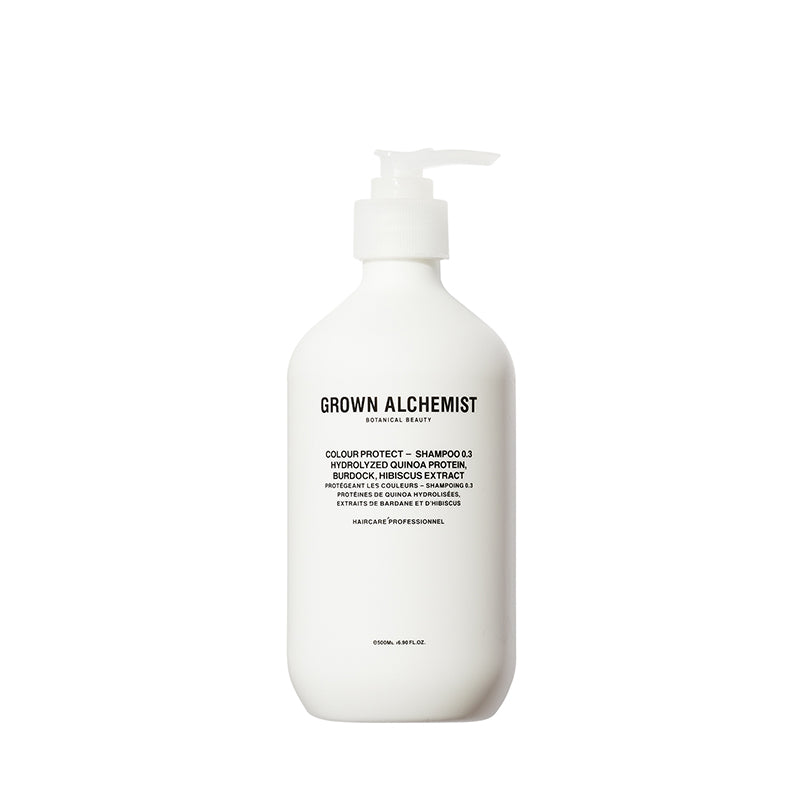 Colour Protect - Shampoo 0.3: Hydrolyzed Quinoa Protein, Burdock, Hibiscus Extract 500ml