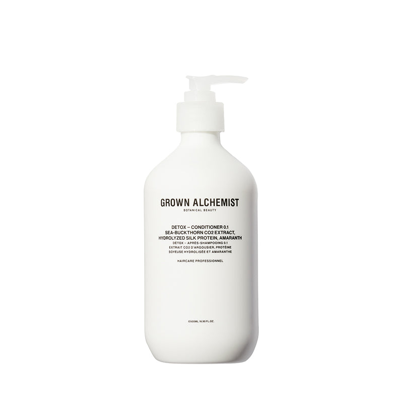 Detox - Conditioner 0.1: Sea-Buckthorn CO2 Extract, Hydrolyzed Silk Protein, Amaranth 500ml