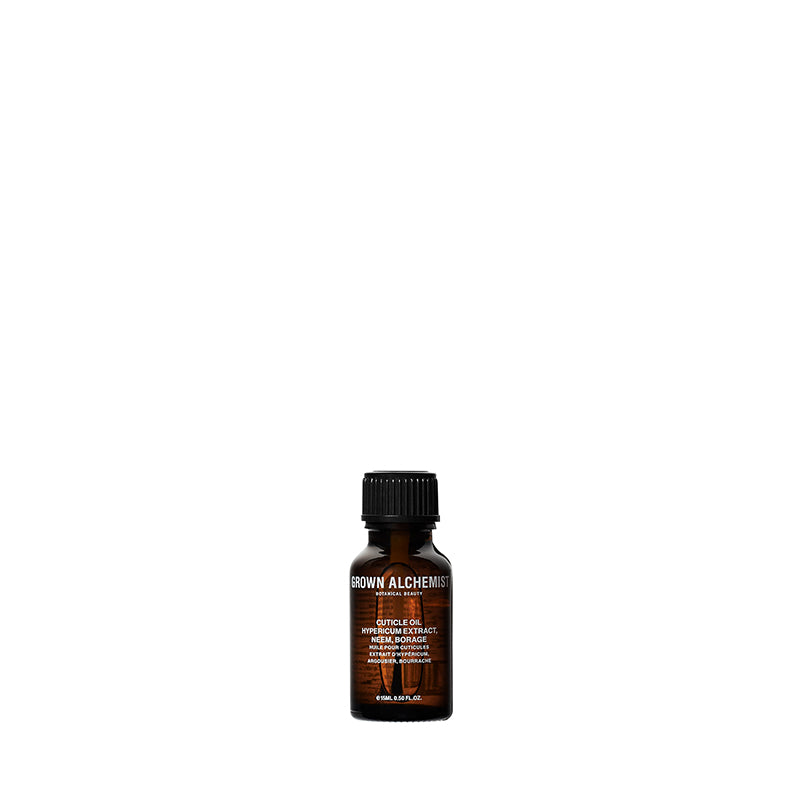 Cuticle Oil: Hypericum Extract, Neem, Borage