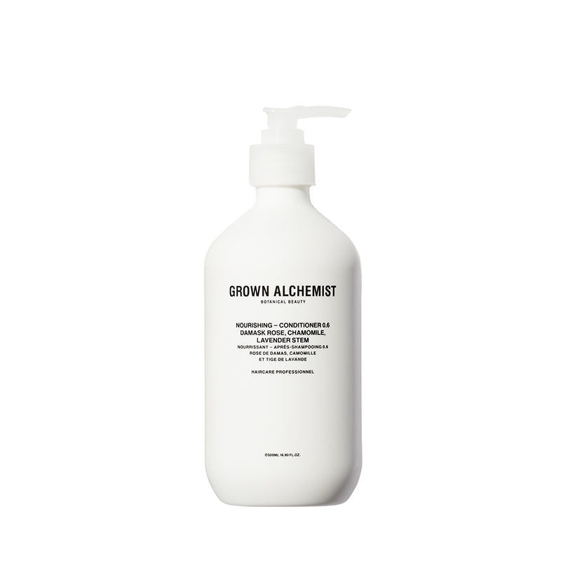 Nourishing - Conditioner 0.6 : Damask Rose,  Chamomile, Lavender Stem 500ml