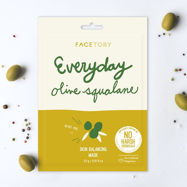 Everyday Olive Squalane Skin Balancing Mask