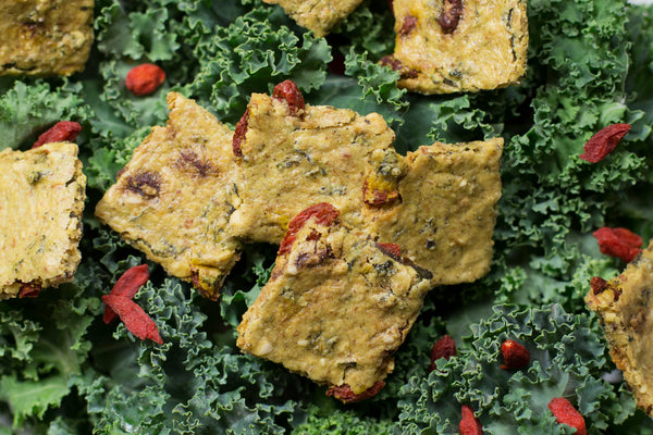 Kale Goji Raw Crackers