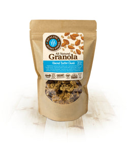 Almond Butter Chunk Baked Granola