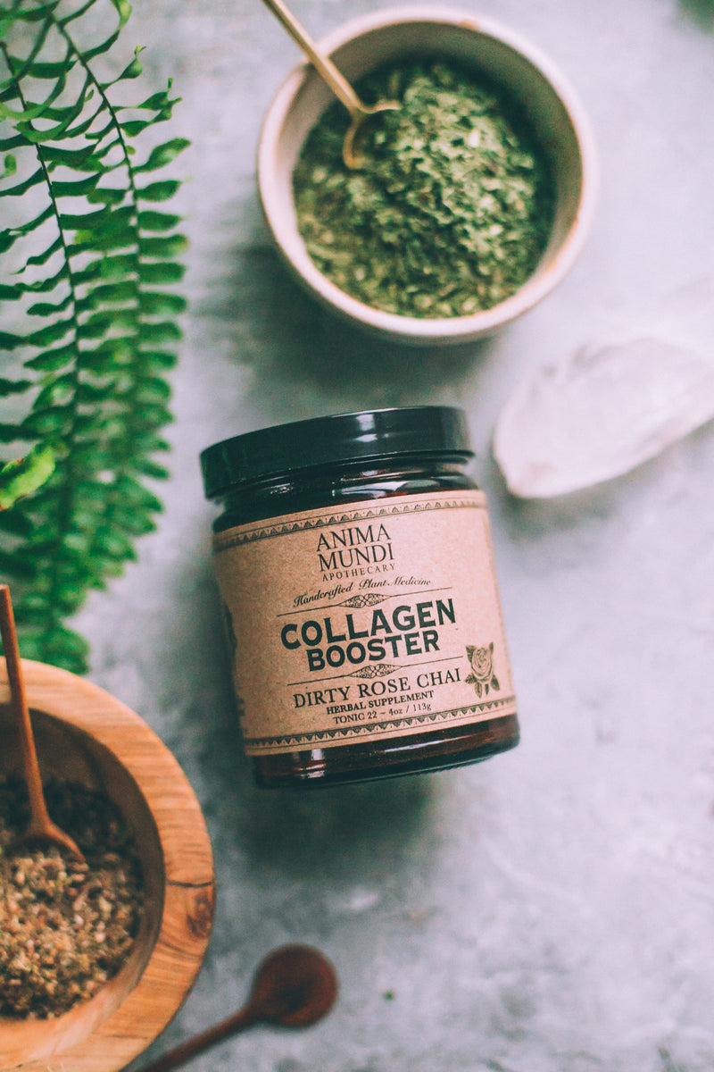 Collagen Booster: Dirty Rose Chai