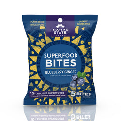 Native State - Ancient Superfood Bites, Blueberry Ginger