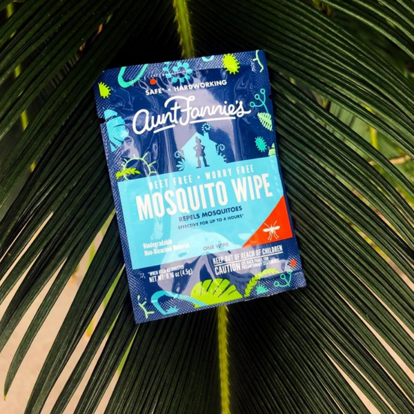 DEET Free Mosquito Repellent Wipes