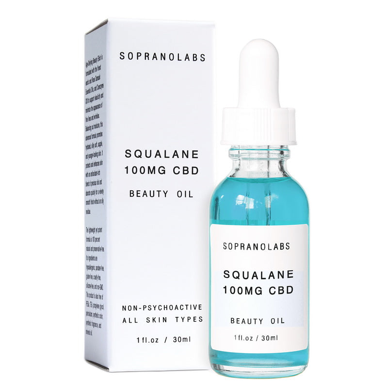 Olive Squalane Vegan Natural Beauty Oil Serum