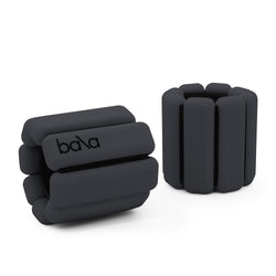 Fitness ankle weights in black - Bala Bangles