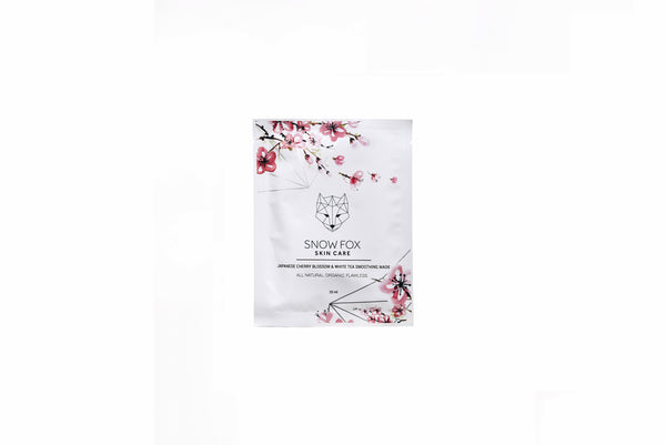 Snow Fox Skincare - Japanese Cherry Blossom and White Tea Smoothing Mask