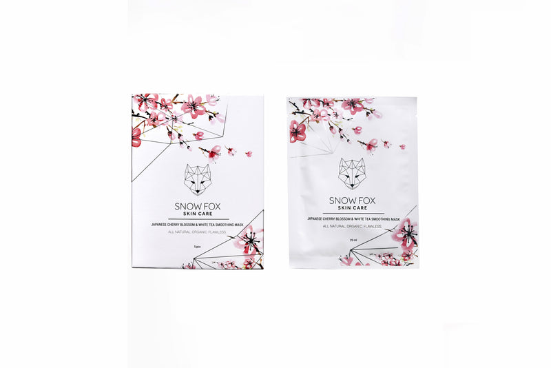 Japanese Cherry Blossom and White Tea Smoothing Mask