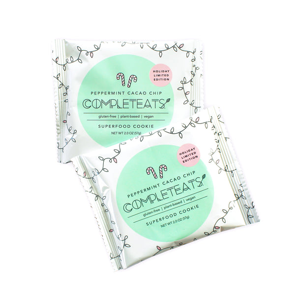 CompletEats -  Limited Edition Peppermint Cacao Chip Cookie - 12 Pack