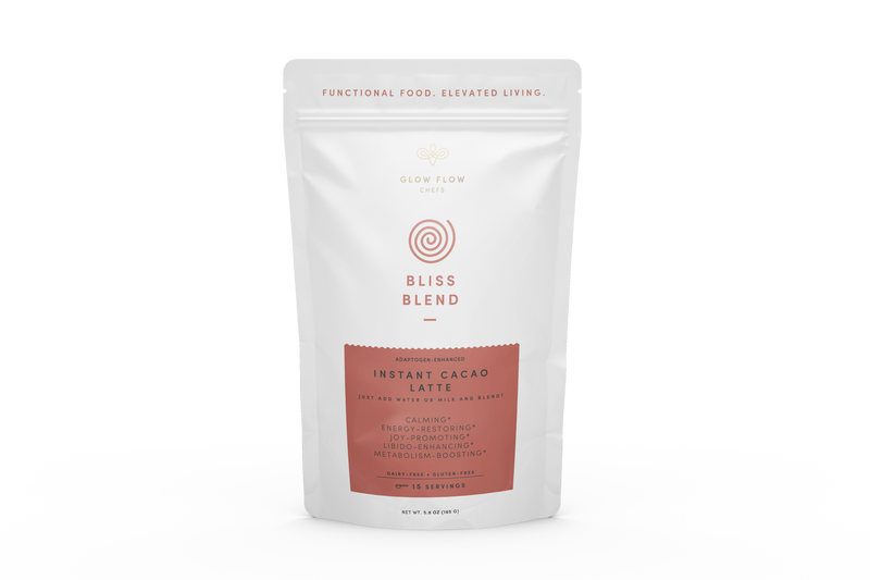 Instant Cacao Latte Blend Glow Flow Chefs