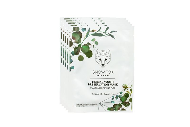 Herbal Youth Collagen Boosting Mask