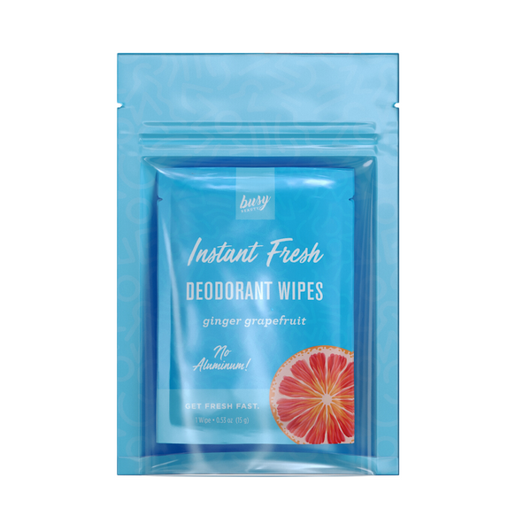 Instant Fresh Deodorant Wipes