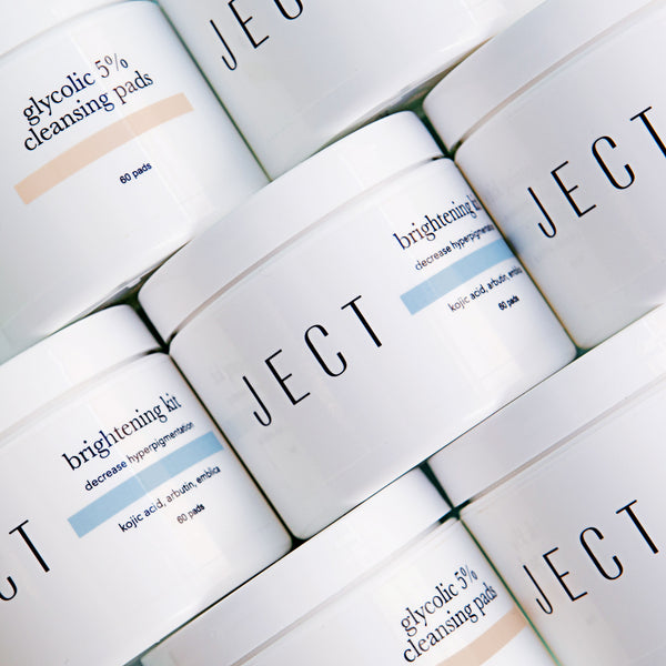 Glycolic 5% Cleansing Pads - JECT