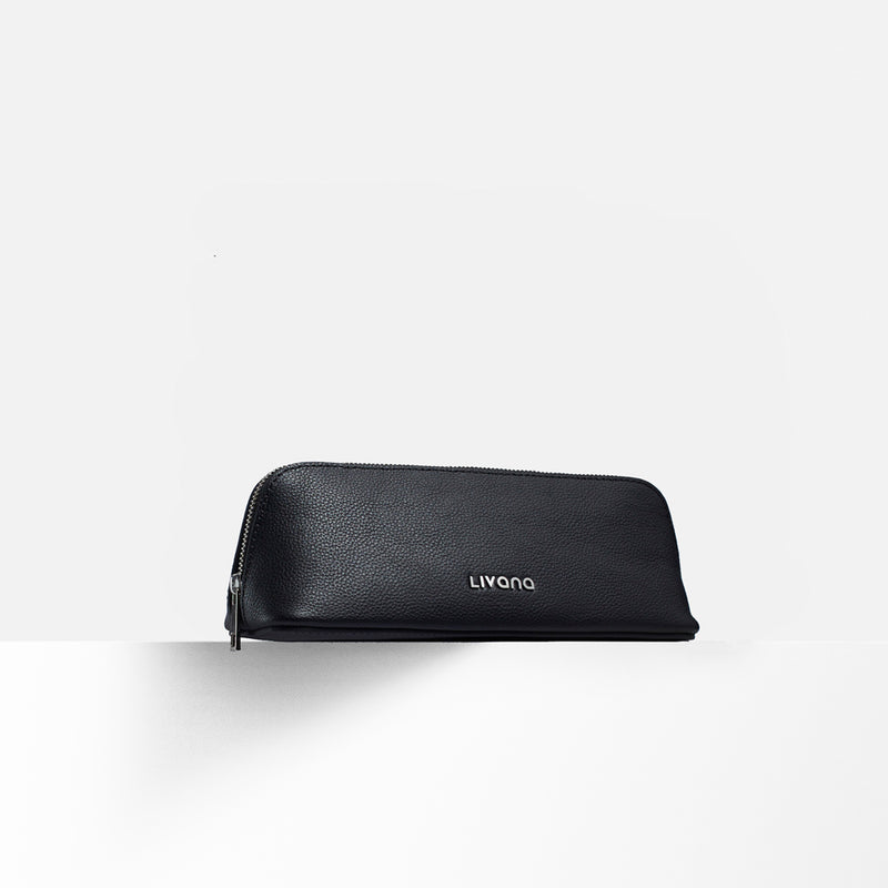 PerfectTemp Leather Cosmetic Case - The Minimalist