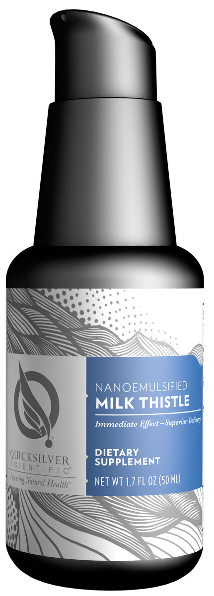 Nanoemulsified Milk Thistle