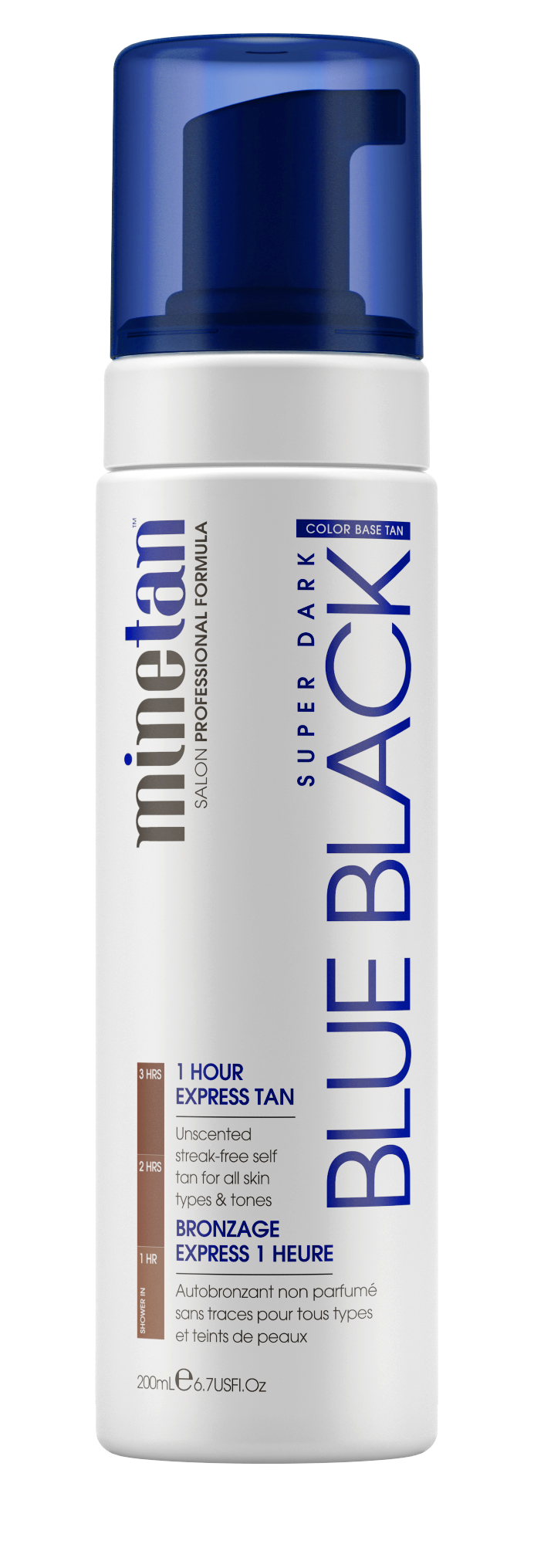 MineTan Blue Black Self Tan Foam