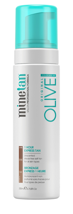 MineTan Olive Self Tan Foam