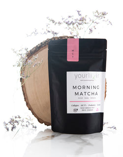 Morning Matcha Latte Blend (collagen + probiotics)