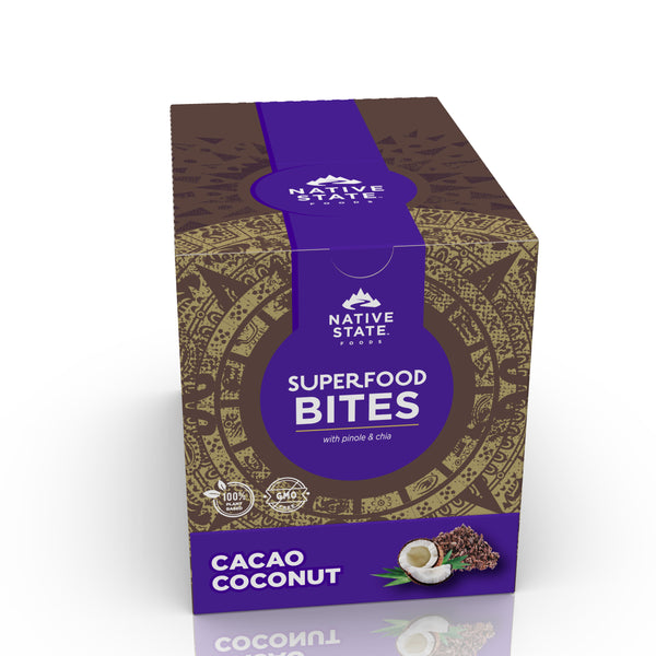 Ancient Superfood Bites, Cacao Coconut