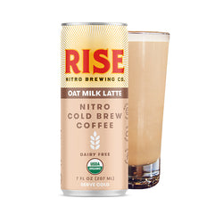 Oat Milk Nitro Cold Brew Latte