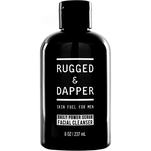 DAILY POWER SCRUB FACIAL CLEANSER Rugged and Dapper