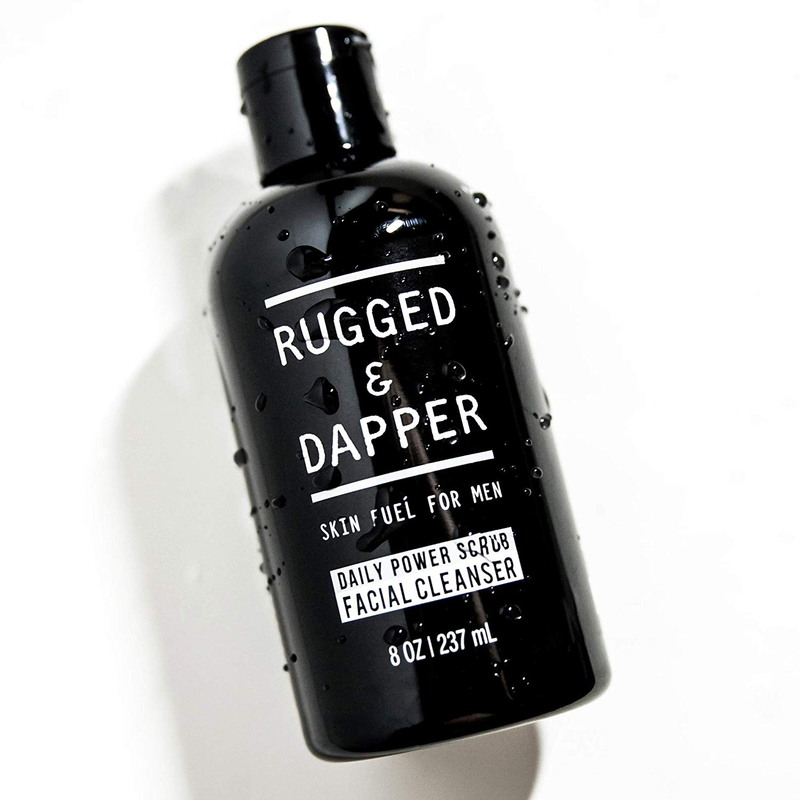 DAILY POWER SCRUB FACIAL CLEANSER Rugged & Dapper