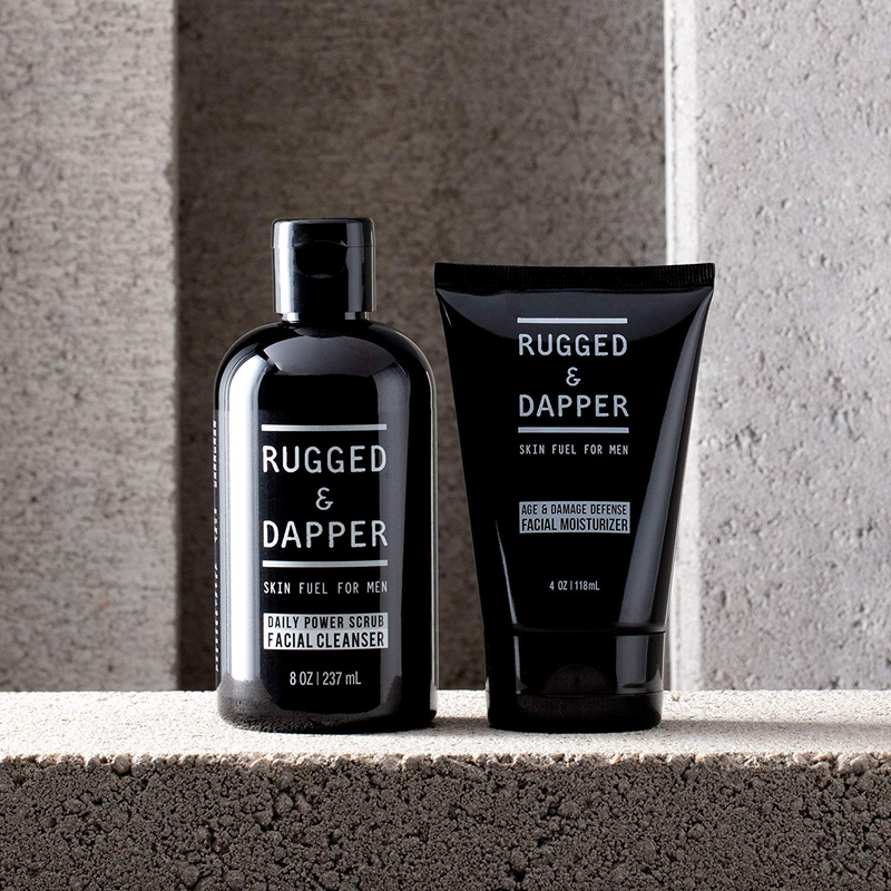 RUGGED & DAPPER - DAILY FACIAL DUO SET