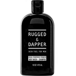 RUGGED & DAPPER - DUAL PURPOSE POWER BODY WASH + SHAMPOO