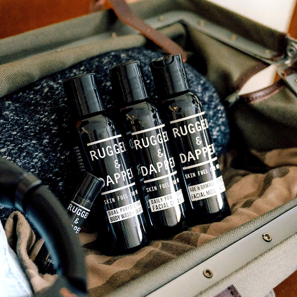 RUGGED & DAPPER - CORE REGIMEN TRAVEL KIT