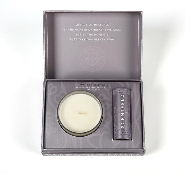Scentered.com - I WANT TO SLEEP WELL GIFT SET