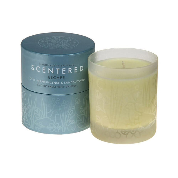Scentered - ESCAPE HOME AROMATHERAPY CANDLE