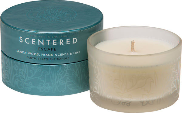 Scentered - ESCAPE TRAVEL AROMATHERAPY CANDLE