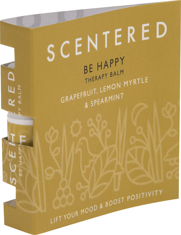 Scentered - HAPPY MINI WELLBEING RITUAL AROMATHERAPY BALM