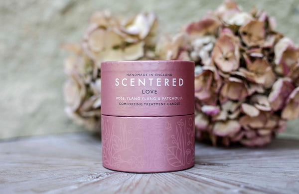Scentered - LOVE TRAVEL AROMATHERAPY CANDLE