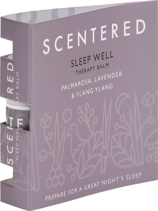 Scentered - SLEEP WELL MINI WELLBEING RITUAL AROMATHERAPY BALM
