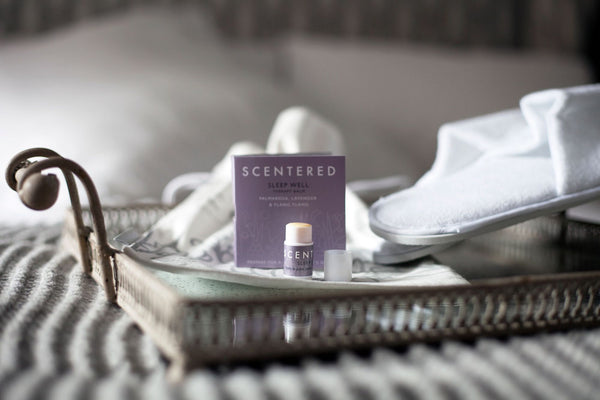 SLEEP WELL MINI WELLBEING RITUAL AROMATHERAPY BALM