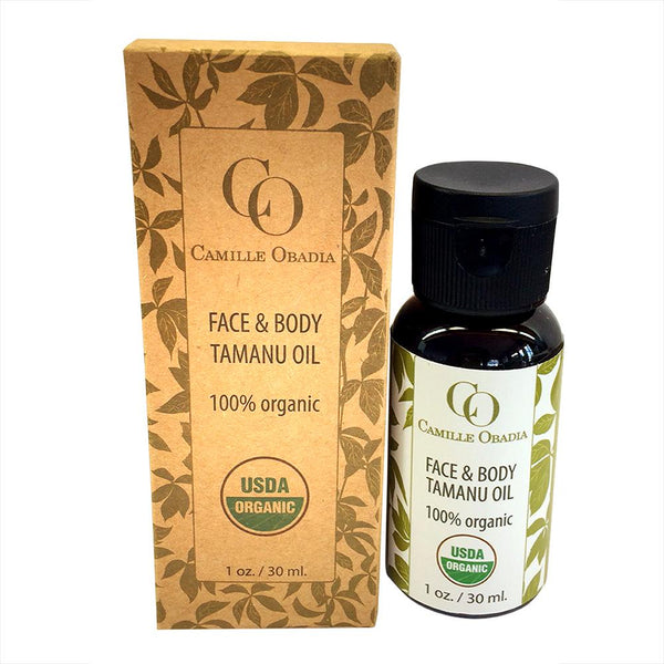 100% Organic Face & Body Tamanu oil