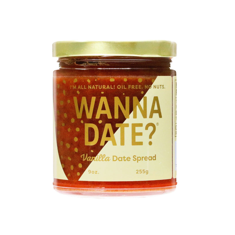 Healthy Vanilla Date Spread