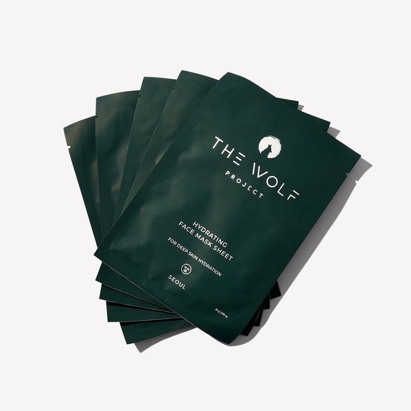 Hydrating Sheet Face Mask - The Wolf Project
