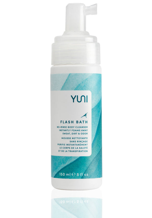 FLASH BATH No Rinse Body Cleansing Foam- YUNI