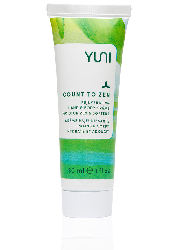 COUNT TO ZEN Rejuvenating Hand & Body Creme | Travel Size - YUNI