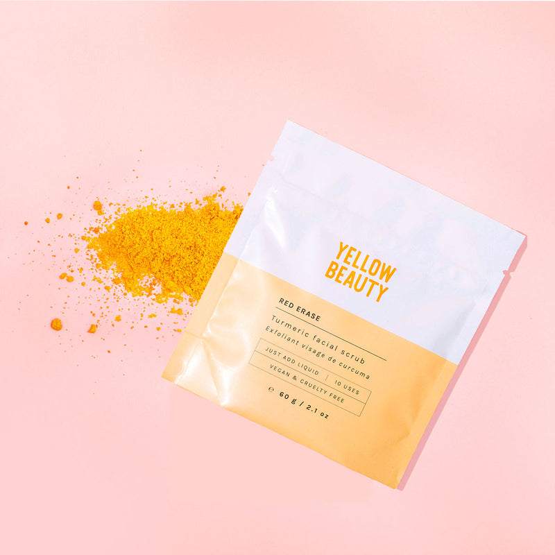 Red Erase Turmeric Face Scrub