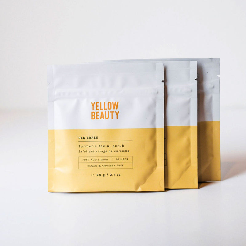 Yellow Beauty - Red Erase Turmeric Face Scrub