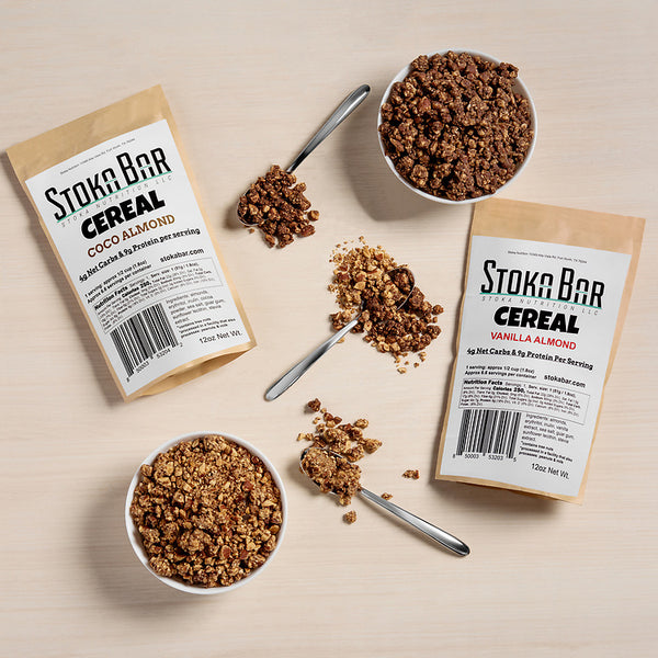 Vanilla Almond Stoka Bar Cereal