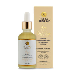 Age Defying Rosehip, Frankincense & Myrrh Anti-Wrinkle Face Oil