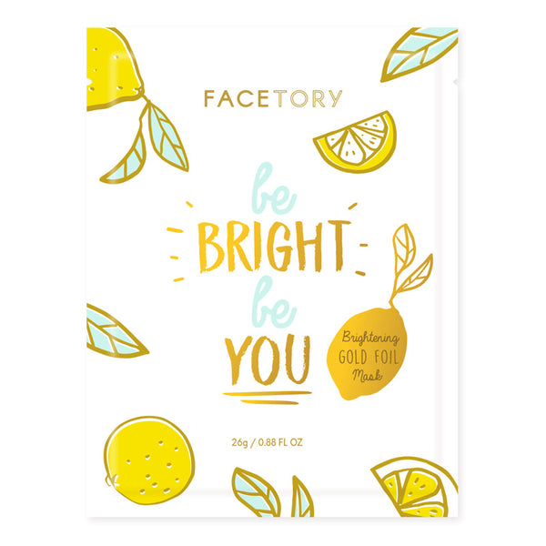 Be Bright Be You Brightening Gold Foil Mask- Facetory