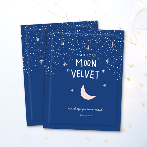 Moon Velvet Moisturizing Cream Mask- Facetory