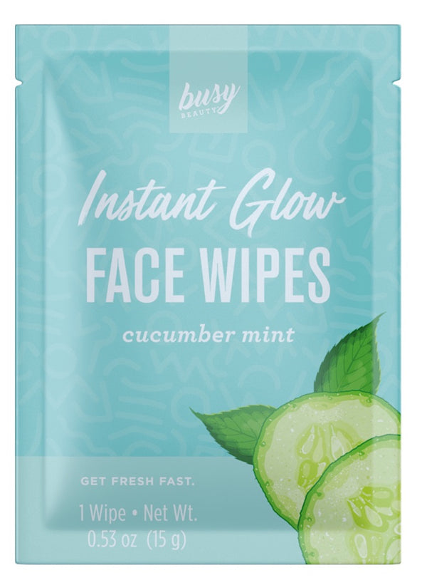 Instant Glow Face Wipes